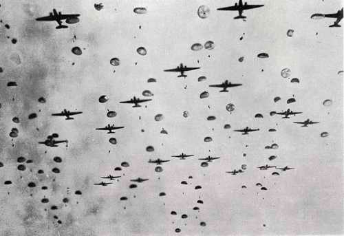 101st Airborne Dropping in Operation Market Garden