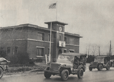 501st PIR - 101st Airborne Division going to Bastogne